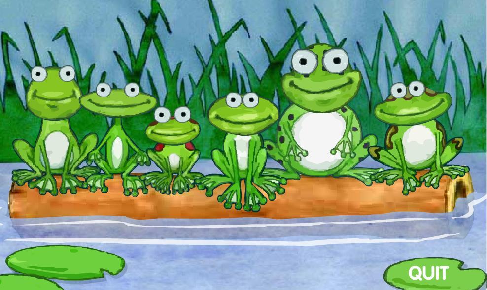 Fondos de ranas animadas imagui for Imagenes de un estanque para colorear